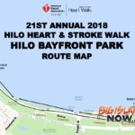 Hilo Heart & Stroke Walk, March 10