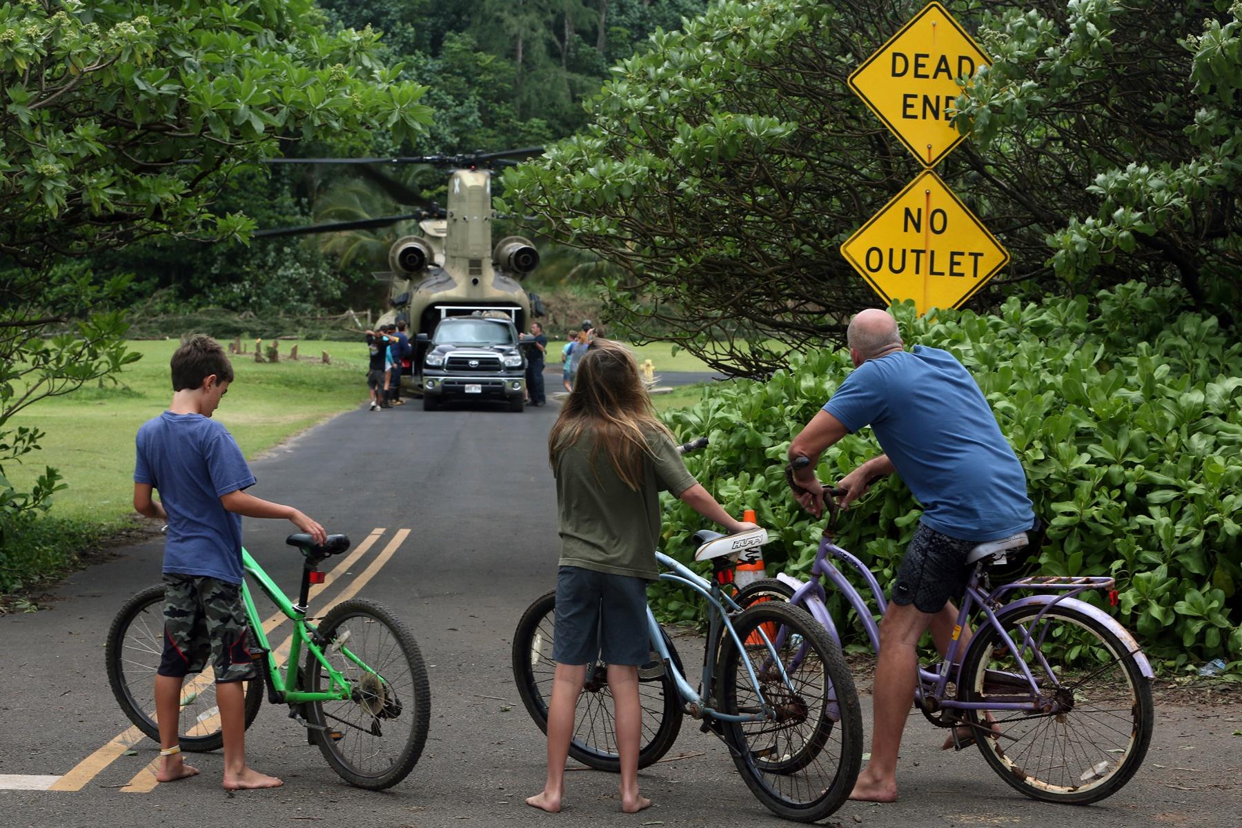Kaua 39 i flood update big island now for Department of motor vehicles kauai