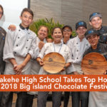 Big Island High School Chefs Take Top Honors at Chocolate Festival