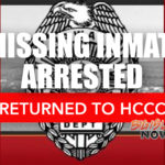Missing Inmate Arrested, Returned to HCCC