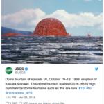 50-Year-Old Kīlauea Dome Fountain Photo Resurfaces on Social Media