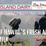 Big Island Dairy Donates Milk to O'ahu Public Housing Complex