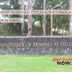 Enrollment in UH Hilo Psychology Graduate Program Resumes