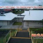 Community Meeting on Emergency Preparedness