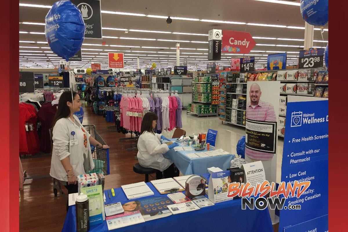 Walmart providing free health checks Saturday