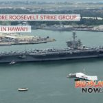Theodore Roosevelt Strike Group Arrives in Hawai'i