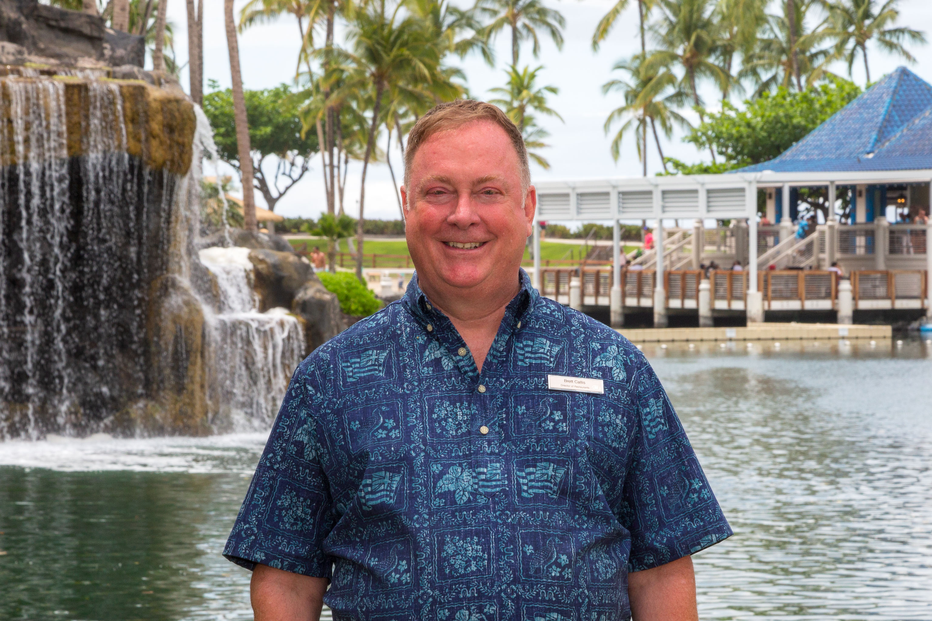 In His New Position Brett Callis Will Oversee Key Restaurants At The Hilton Waikoloa Village Pc Courtesy Photo
