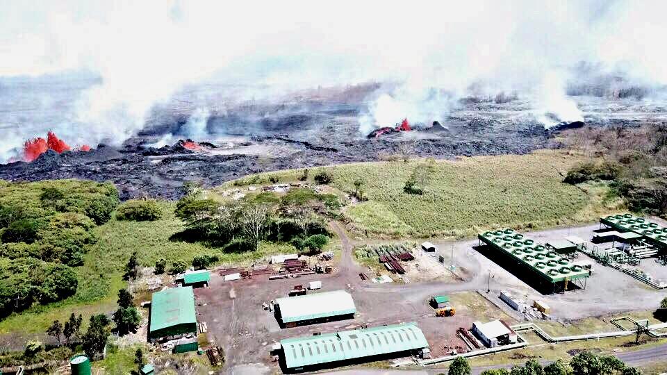 June Calendar Happenings : Lava damages puna geothermal venture power plant big