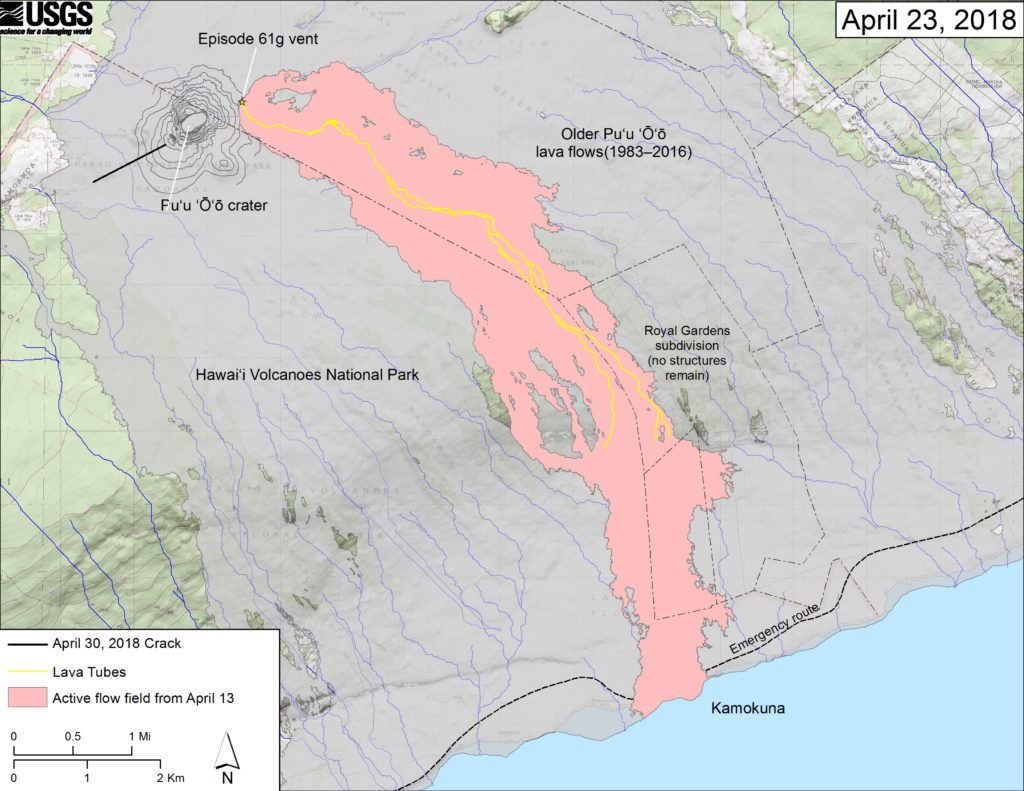 Hawaii Volcano BlogNew USGS Map Shows Location of New Crack in KīlaueaShare this ArticleKalapana Charter School Closes Due to Consistent Quake ActivityNew Crack Found on West Side of Pu'u O'oYou Might Also LikeQuick LinksCompany Info