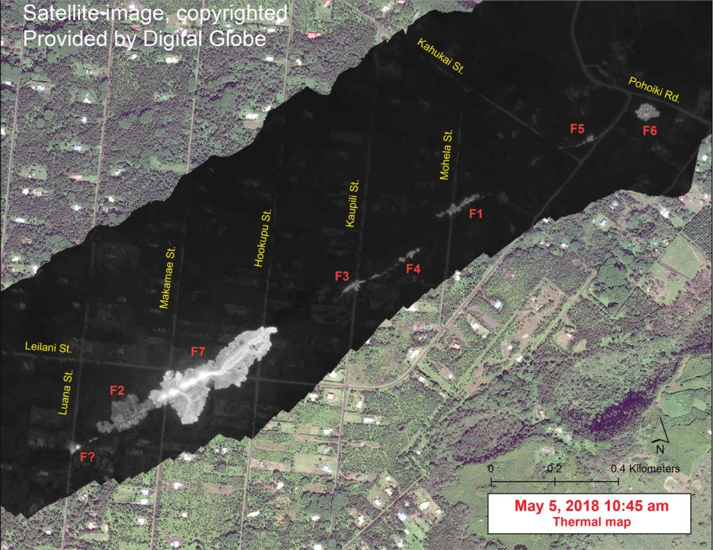 Satellite Image Of Leilani Estates Released