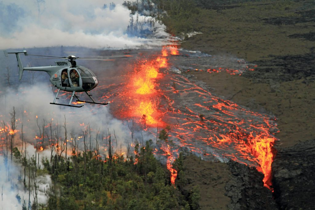 Lava Helicopter Tour