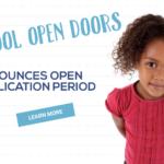 Preschool Open Doors Additional Application Period Begins