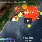 Pacific Tsunami Warning Center Updates Animation of Big Island Quakes and Eruptions