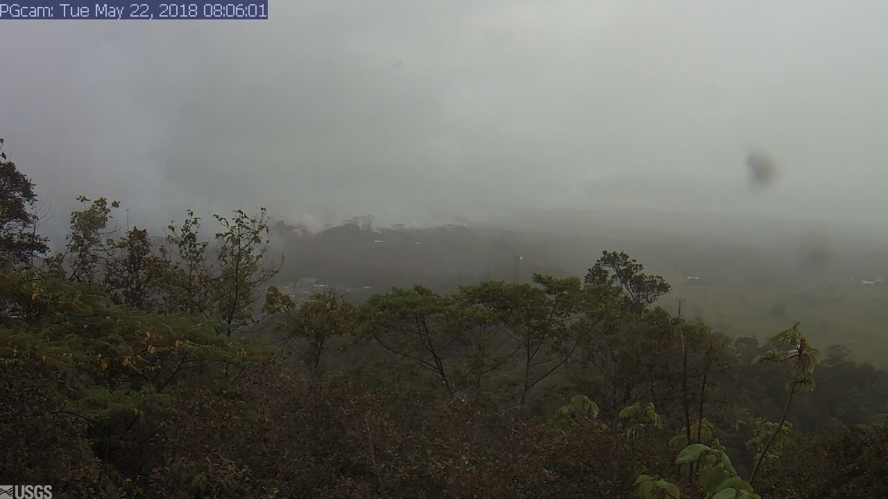 Panorama of Lower East Rift Zone Camera from Lower East Rift ZoneLast Updated