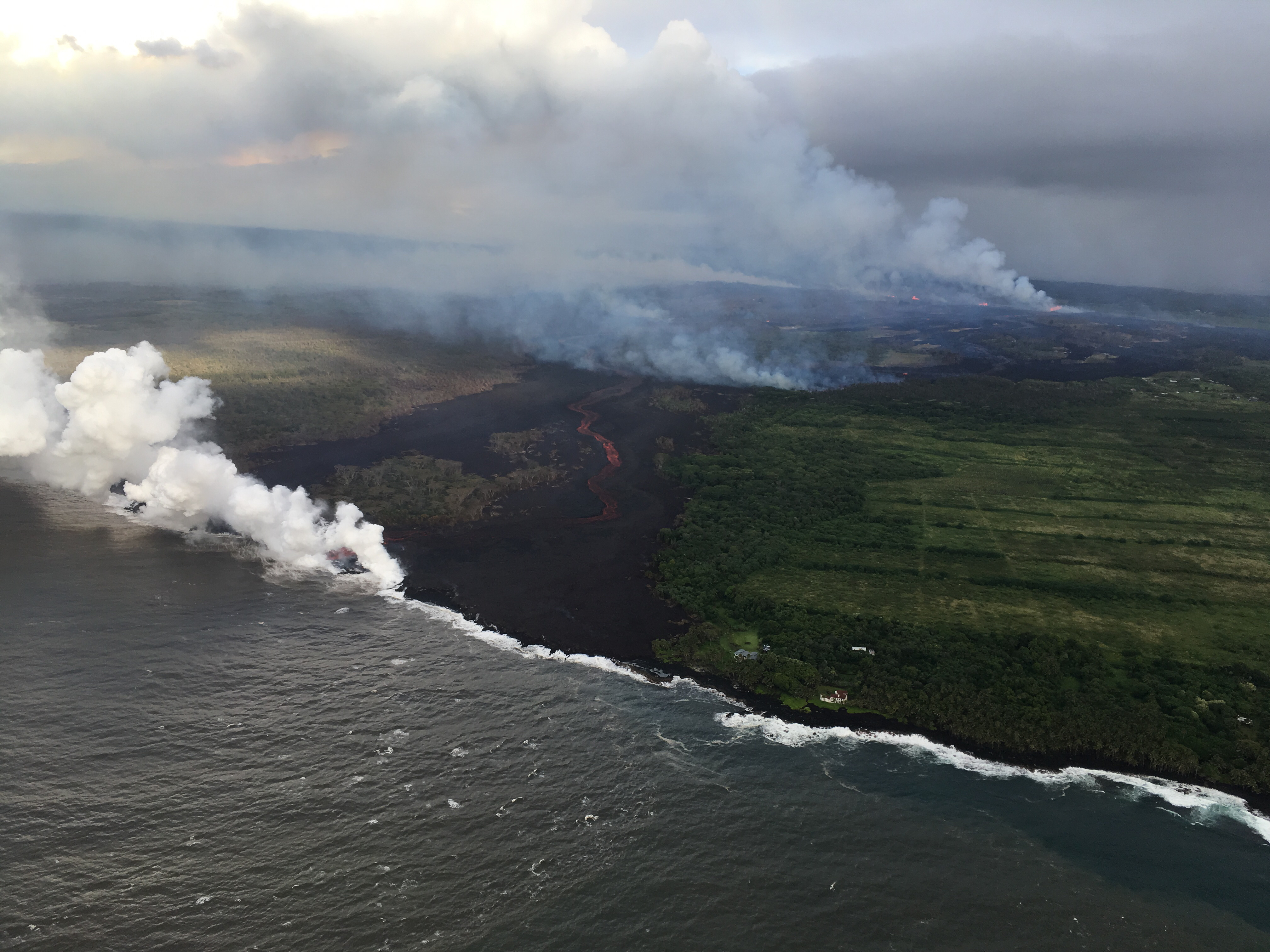 No End in Sight: Hawaii's Kilauea Volcano Eruption Could Threaten Geothermal Plant
