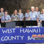 West Hawai'i County Band Announces Free Concerts