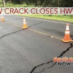 UPDATE: New Crack Closes Highway 130