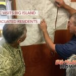 Gov. Ige Visits Evacuated Residents on Big Island
