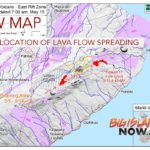 New Map Shows Location of Lava Flow Spreading