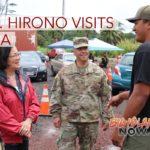 Sen. Hirono Visits Volcano-Impacted Communities in Puna