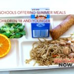 Public Schools Offering Summer Meals to All Children 18 and Younger