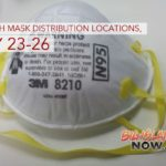 Free Ash Mask Distribution Locations, May 23–26