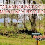 UPDATE: Mayor Kim Announces Change in Emergency Procedure