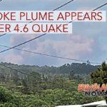 PHOTOS: Smoke Plume Rises in Puʻu ʻŌʻō Area Right After 4.6 Quake