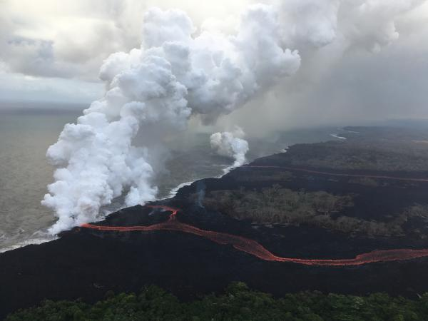Hawaii Kilauea volcano: Lava flow creeps closer to geothermal power plant