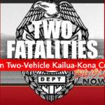 Two Visitors Die in Kailua-Kona Crash