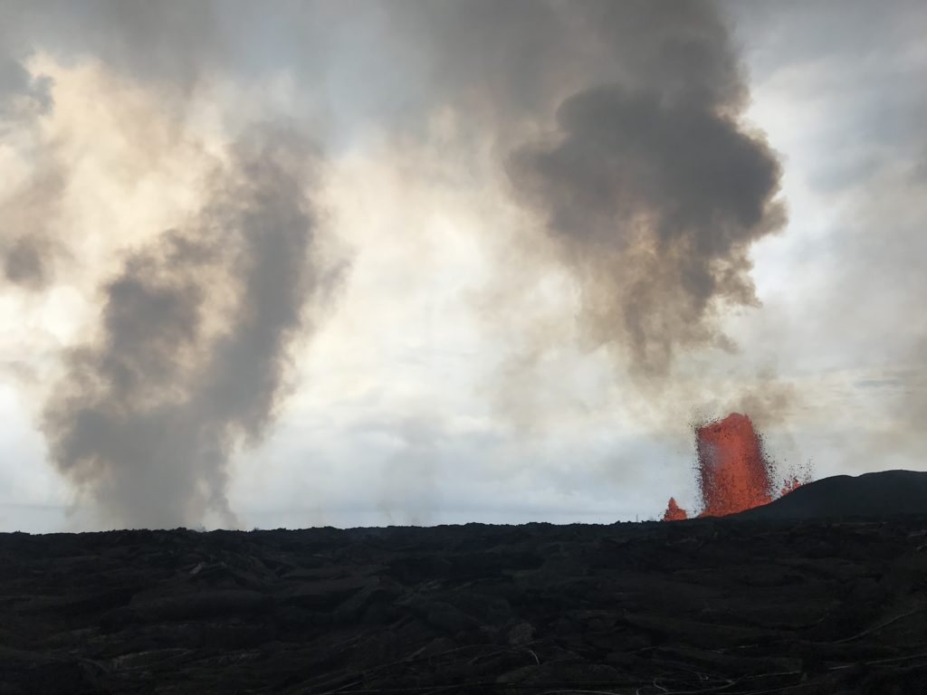 USGS June 2 1024x768 - Kilauea Volcano: New Phase; Lava Flow Hits Green Lake