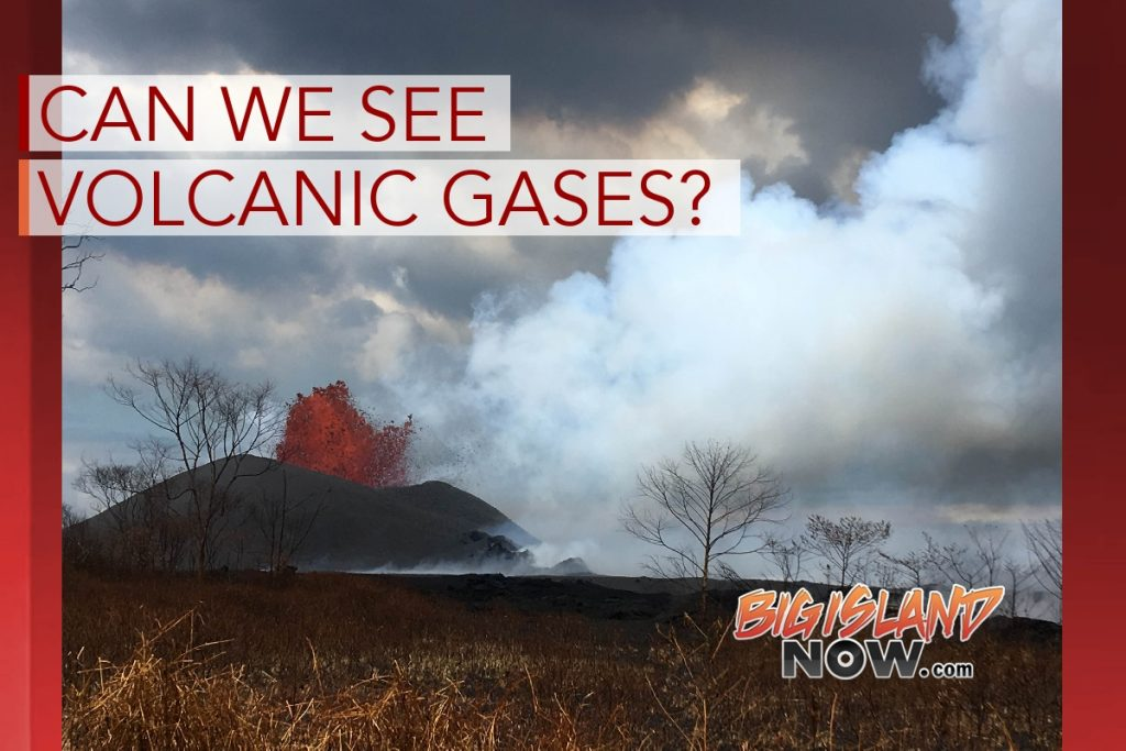 HVO Volcano Watch: Can We See Volcanic Gases?