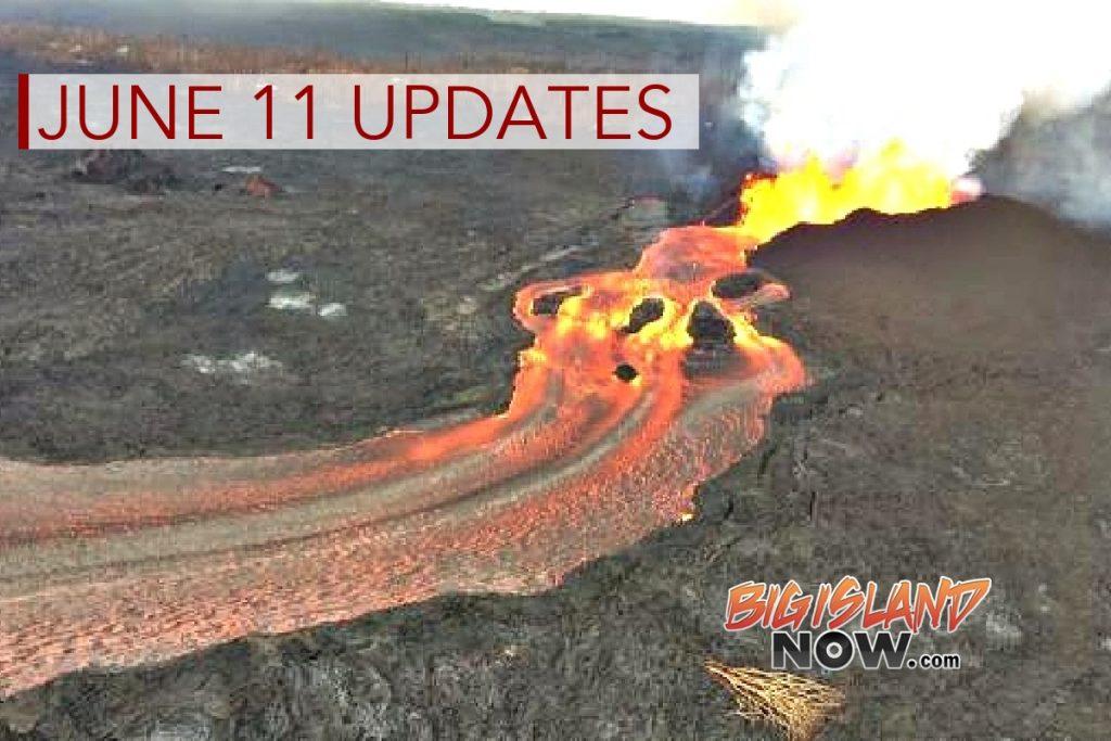 6 PM: Large Laze Plume