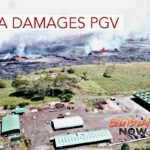 Lava Damages Puna Geothermal Venture Power Plant
