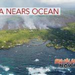 New Map Shows Lava Near Ocean