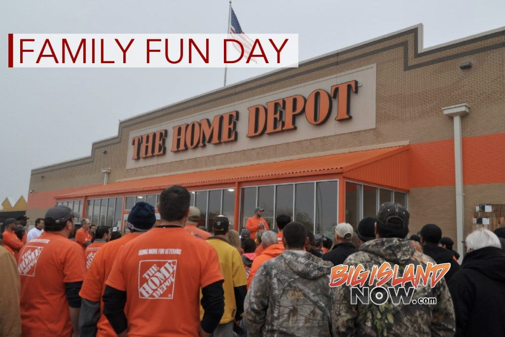 Home Depot to Host 'Family Fun Day' in Kea'au and Pāhoa