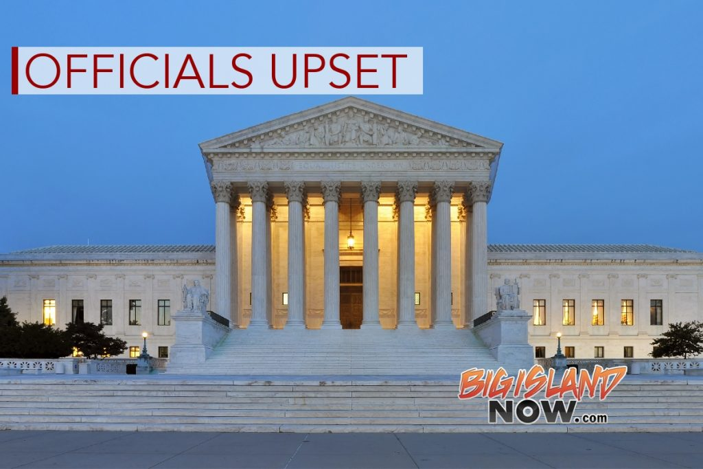 Officials Upset With Supreme Court Decision