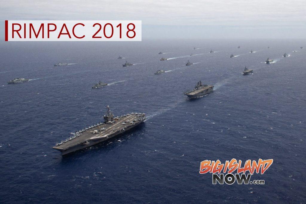 Navy Welcomes RIMPAC 2018 Participants