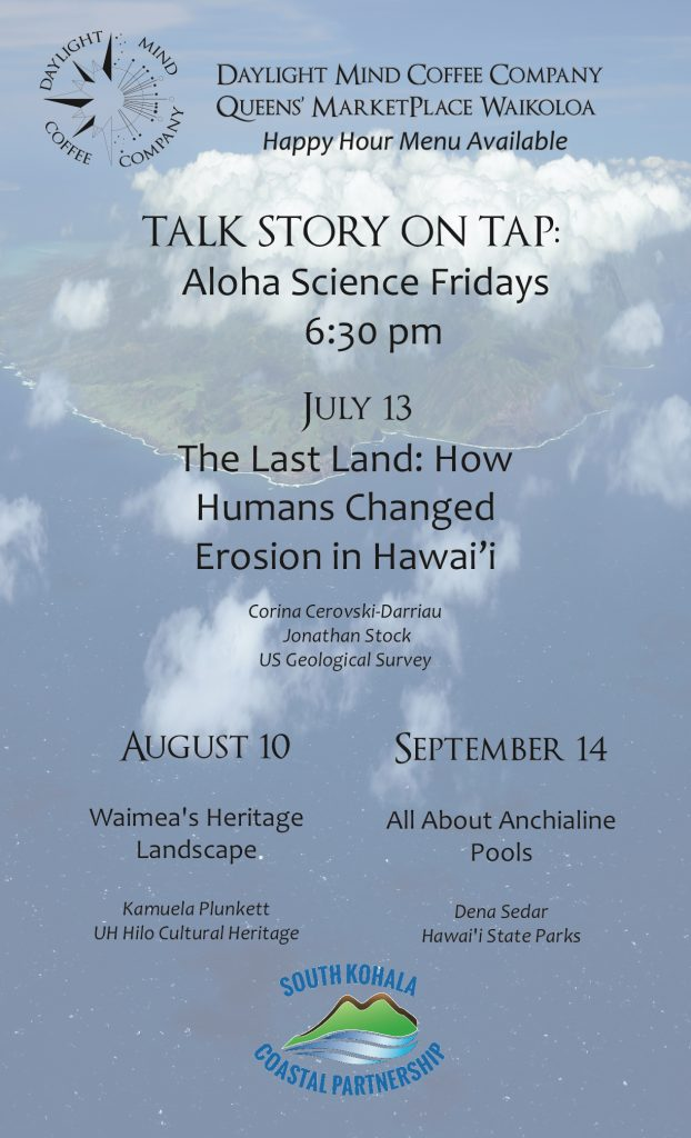 Daylight Mind Coffee Company Talk Story on Tap: Aloha Science Fridays,