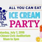 Dream Come True Ice Cream Party, July 7