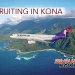Hawaiian Airlines Recruiting in Kona