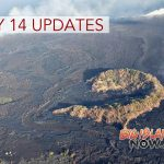 6 PM: Fissure 8 Continues to Flow Toward Kapoho