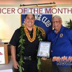 Officer of the Month: Andrew Springer