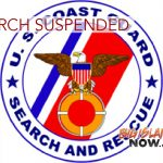 Coast Guard Suspends Search for Possible Mariners in Distress