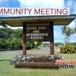 Pāhoa Community Meeting, July 17