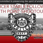 Officer in Stable Condition Following South Point Shootout