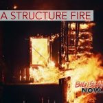 Fire Destroys Unoccupied Wooden Structure in Puna