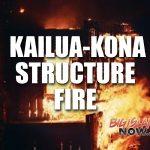 Kona Diving Company Damaged in Blaze