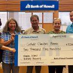 BOH Donates $2,500 to Help Puna Evacuees