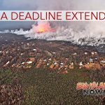 FEMA Deadline Extended for Kīlauea Victims